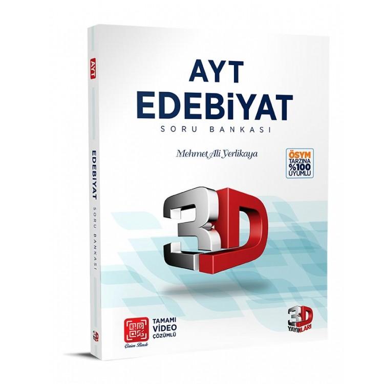 Çözüm Yayınları 3D AYT Edebiyat Soru Bankası