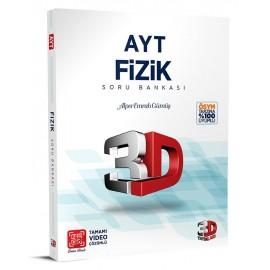 Çözüm Yayınları 3D AYT Fizik Soru Bankası
