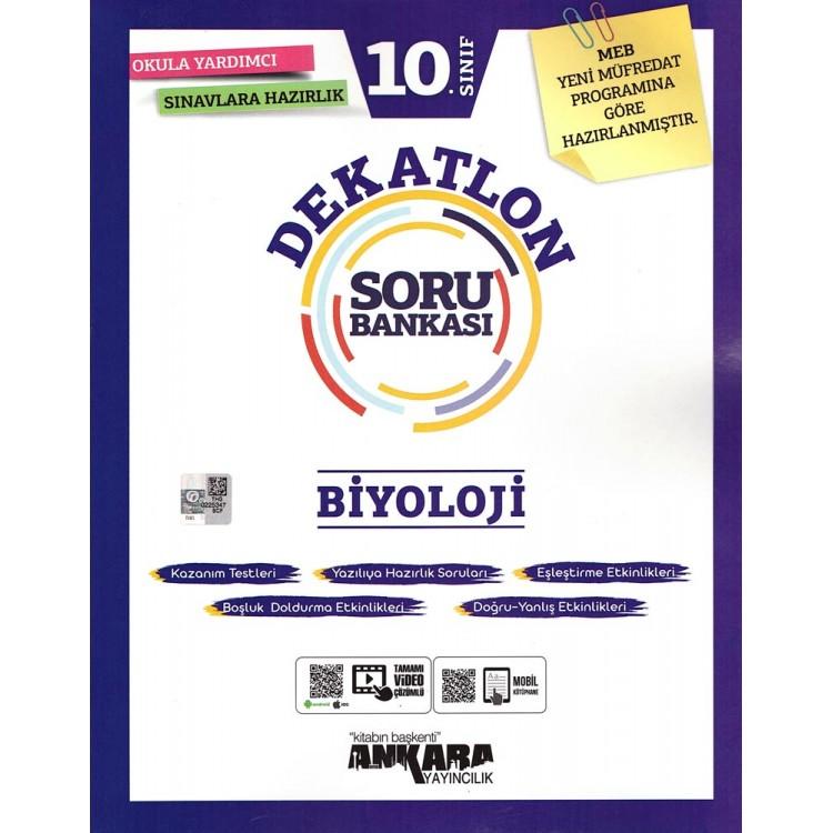 Ankara Yayıncılık 10. Sınıf Dekatlon Biyoloji Soru Bankası