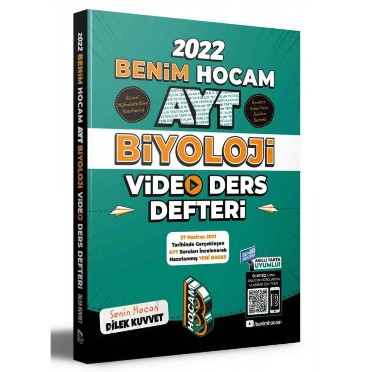 Benim Hocam 2022 AYT Biyoloji Video Ders Defteri