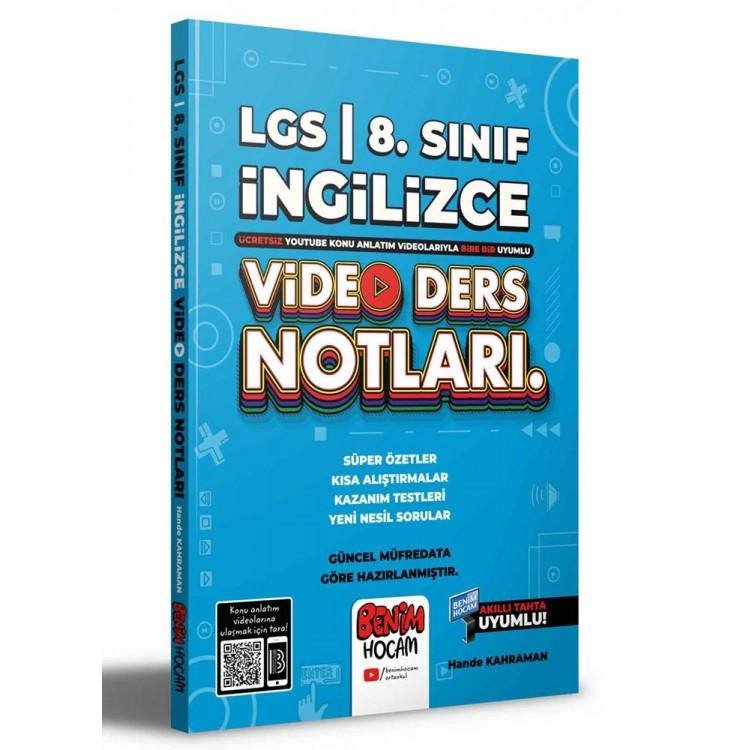 Benim Hocam 2022 LGS 8. Sınıf İngilizce Video Ders Notları