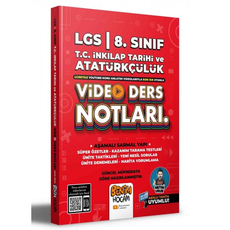 Benim Hocam 2022 LGS 8. Sınıf T.C. İnkılap Tarihi ve Atatürkçülük Video Ders Notları