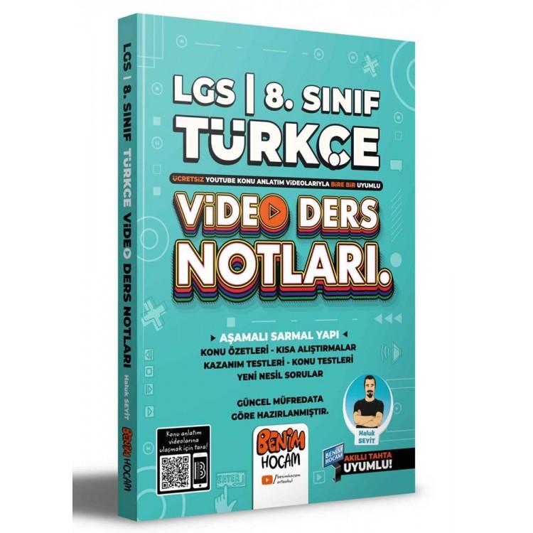 Benim Hocam 2022 LGS 8. Sınıf Türkçe Video Ders Notları