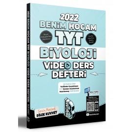 Benim Hocam 2022 TYT Biyoloji Video Ders Defteri
