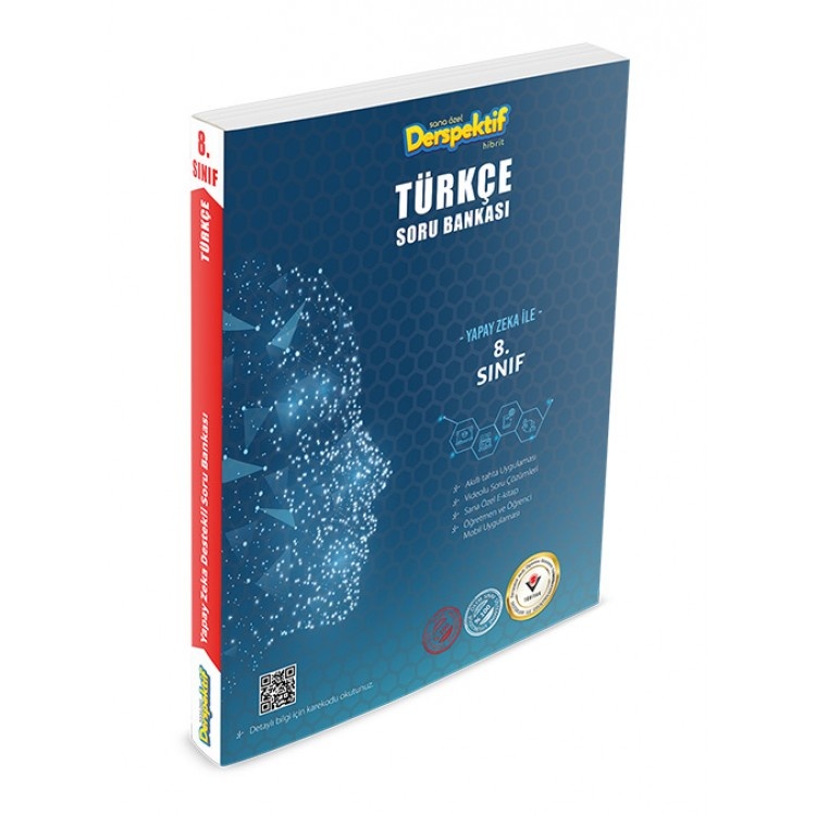 Derspektif 8. Sınıf Türkçe Soru Bankası Hibrit Akıllı Öğrenme Ekosistemi