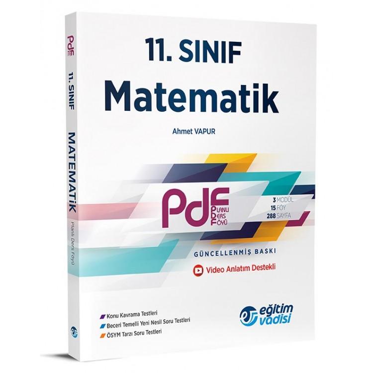 Eğitim Vadisi 11. Sınıf PDF Matematik Video Anlatım Destekli