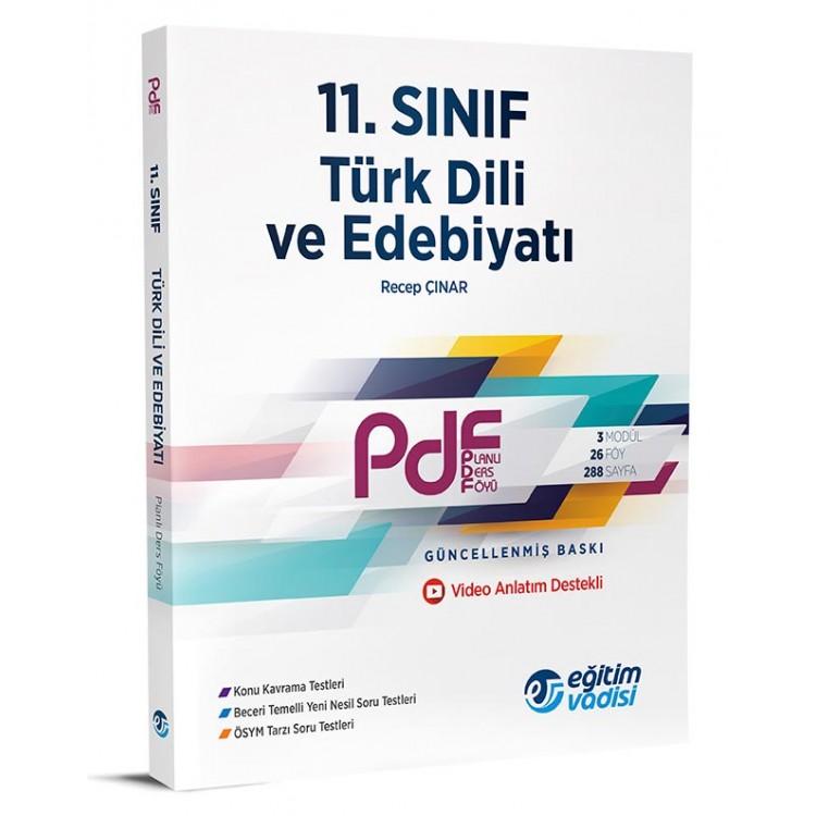 Eğitim Vadisi 11. Sınıf PDF Türk Dili ve Edebiyatı Video Anlatım Destekli
