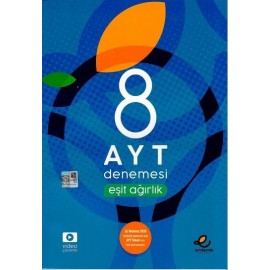 Endemik Yayınları AYT Eşit Ağırlık 8 Denemesi