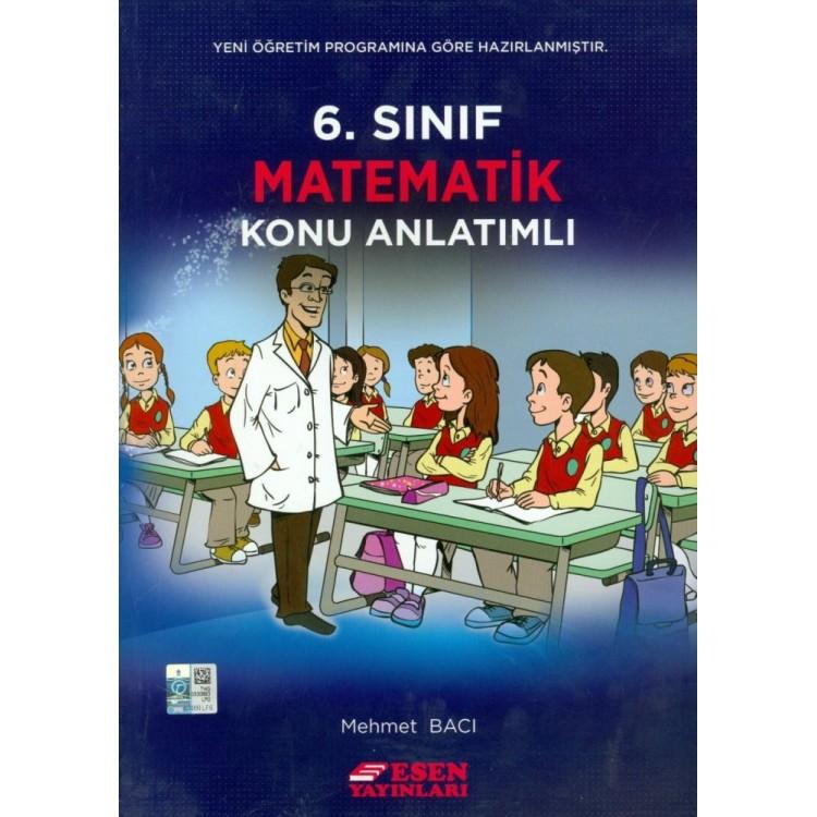 Esen Yayınları 6. Sınıf Matematik Konu Anlatımlı