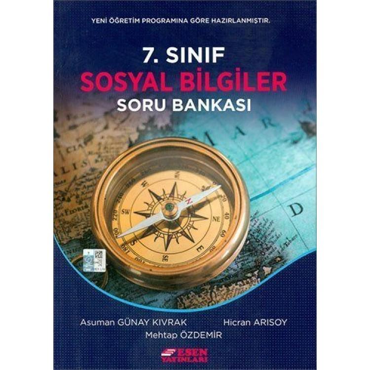 Esen Yayınları 7. Sınıf Sosyal Bilgiler Soru Bankası