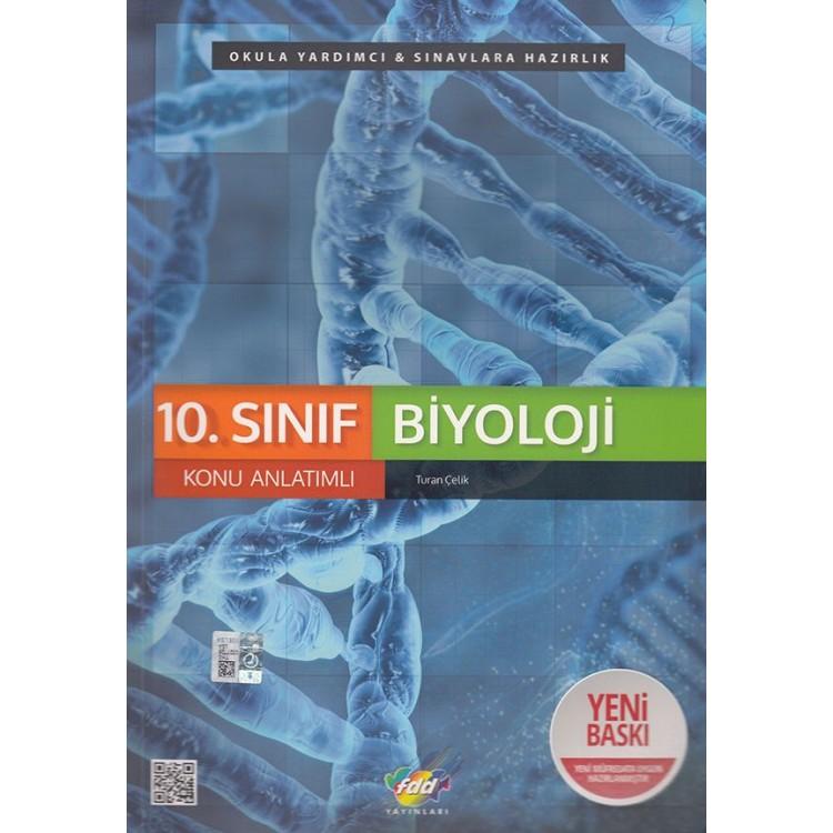 FDD Yayınları 10. Sınıf Biyoloji Konu Anlatımlı