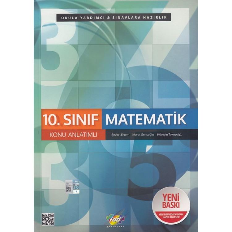 FDD Yayınları 10. Sınıf Matematik Konu Anlatımlı