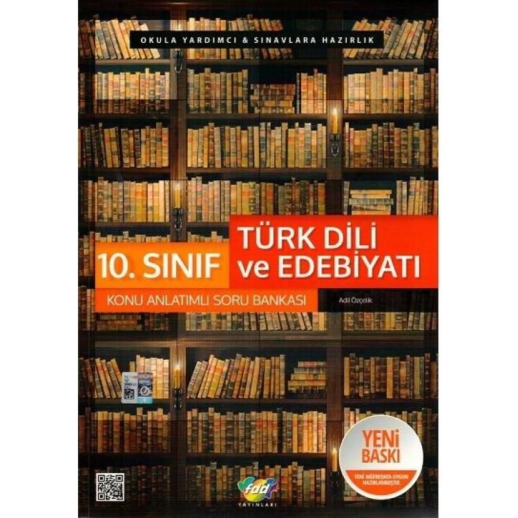FDD Yayınları 10. Sınıf Türk Dili ve Edebiyatı Konu Anlatımlı Soru Bankası
