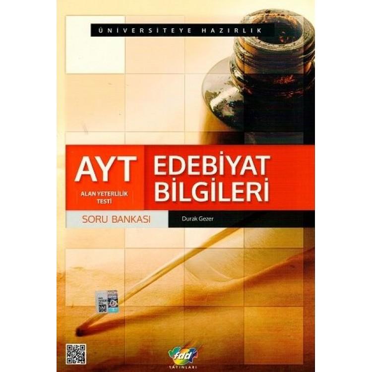 FDD Yayınları AYT Edebiyat Bilgileri Soru Bankası