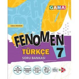 Gama Yayınları 7. Sınıf Fenomen Türkçe Soru Bankası