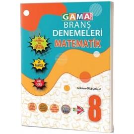 Gama Yayınları 8. Sınıf Matematik 20 Branş Denemeleri