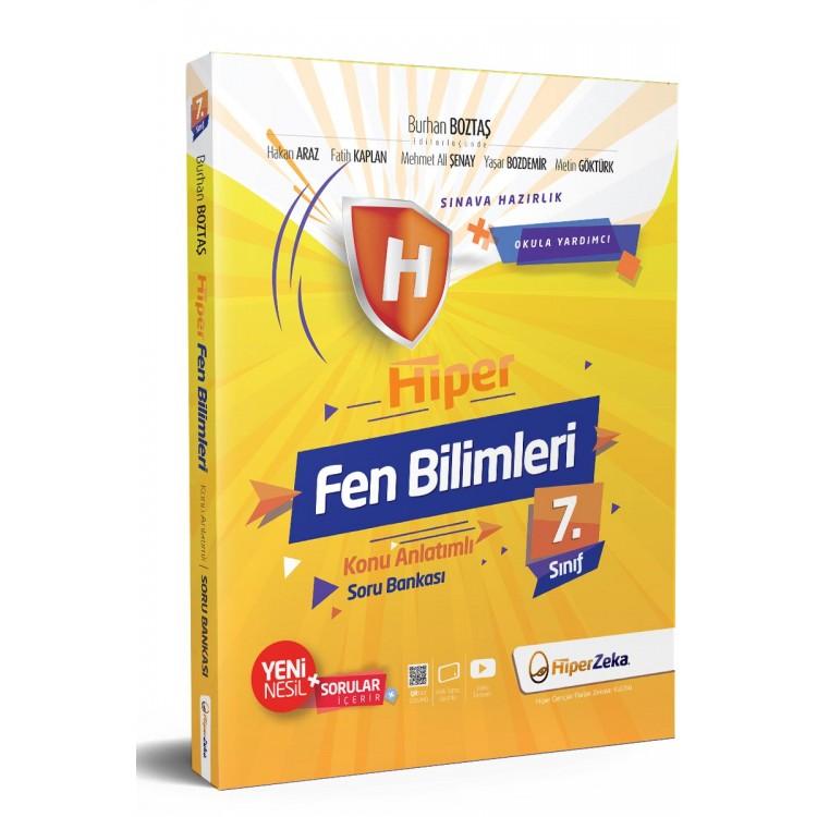 Hiper Zeka 7. Sınıf Hiper Fen Bilimleri Konu Anlatımlı Soru Bankası