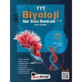 Kafa Dengi Yayınları TYT Biyoloji Nar Orta ve İleri Düzey Soru Bankası