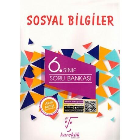 Karekök Yayınları 6. Sınıf Sosyal Bilgiler Soru Bankası