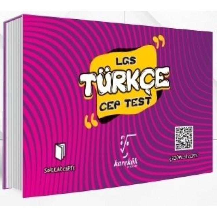 Karekök Yayınları 8. Sınıf LGS Türkçe Cep Test