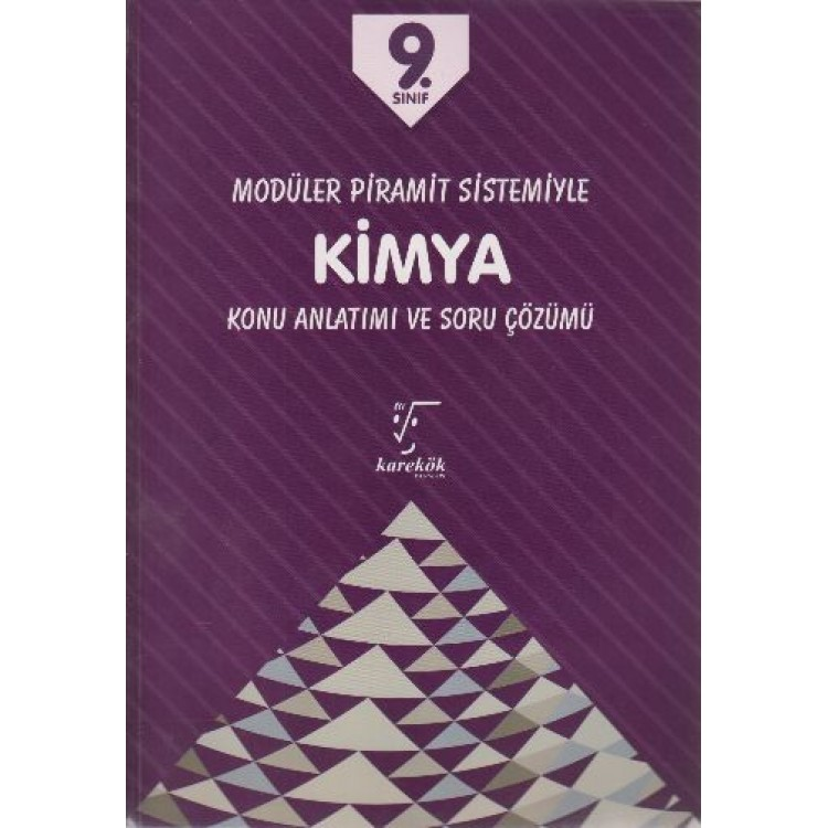 Karekök Yayınları 9. Sınıf MPS Kimya Konu Anlatımı ve Soru Çözümü