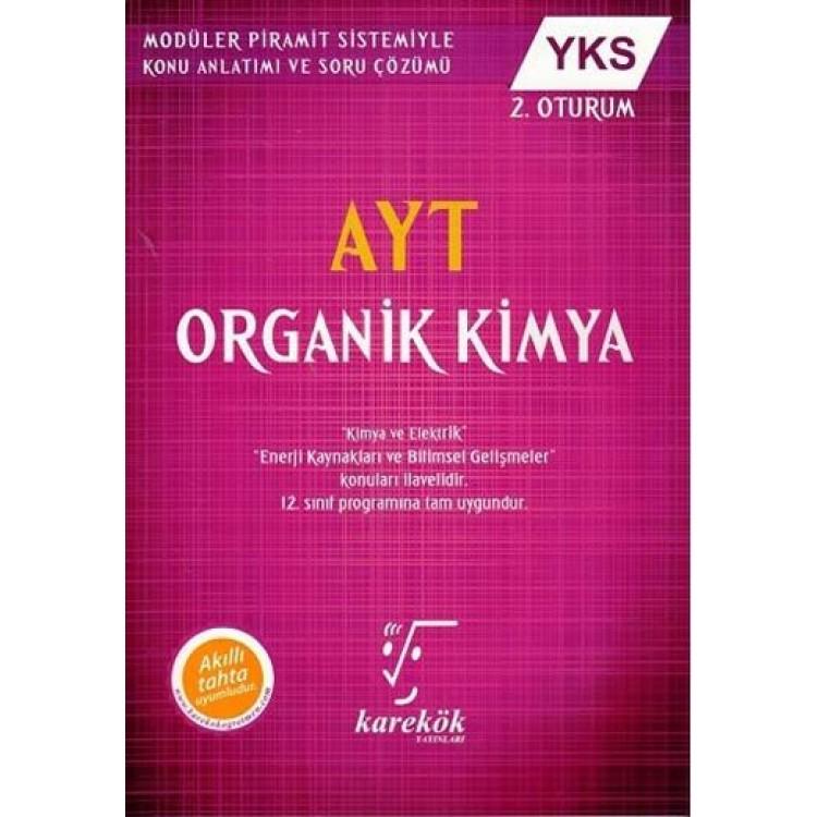 Karekök Yayınları AYT MPS Organik Kimya Konu Anlatımlı