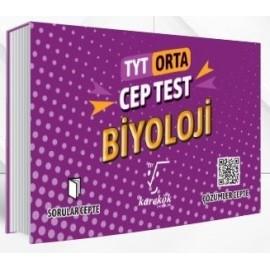 Karekök Yayınları TYT Biyoloji Cep Test Orta