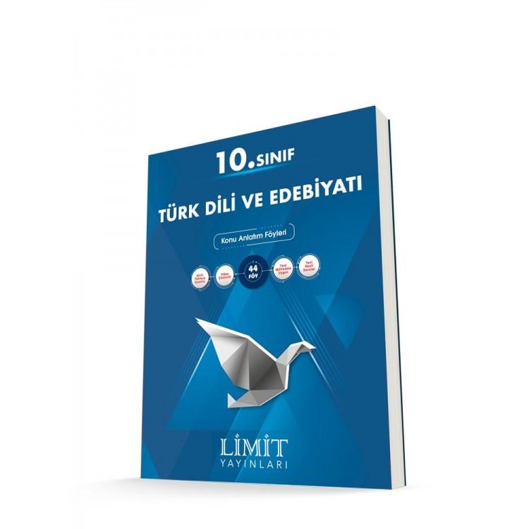 Limit Yayınları 10. Sınıf Türk Dili ve Edebiyatı Konu Anlatım Föyleri