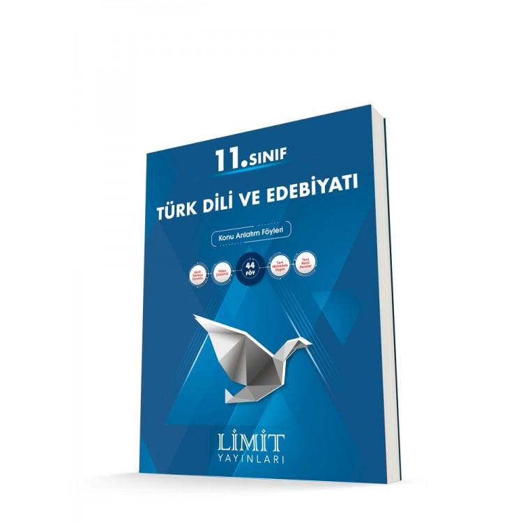 Limit Yayınları 11. Sınıf Türk Dili ve Edebiyatı Konu Anlatım Föyleri