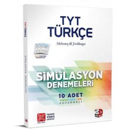 Çözüm Yayınları 3D TYT Türkçe 10'lu Simülasyon Denemeleri Tamamı Video Çözümlü