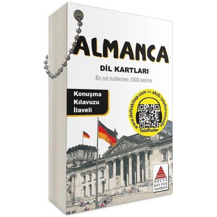 Delta Kültür Almanca Dil Kartları