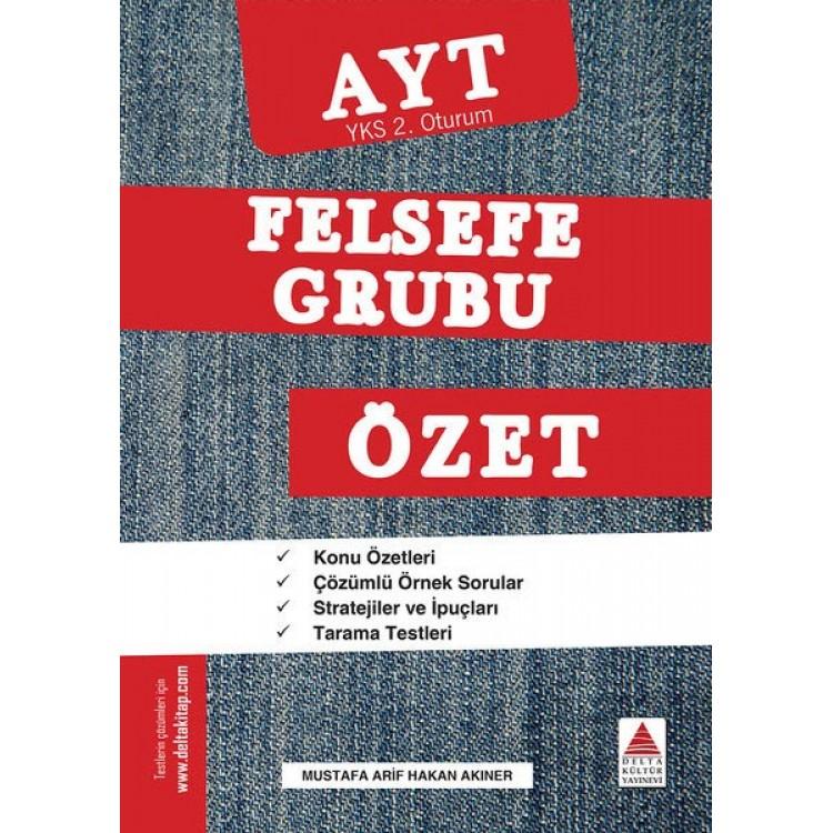 Delta Kültür AYT Felsefe Grubu Özet