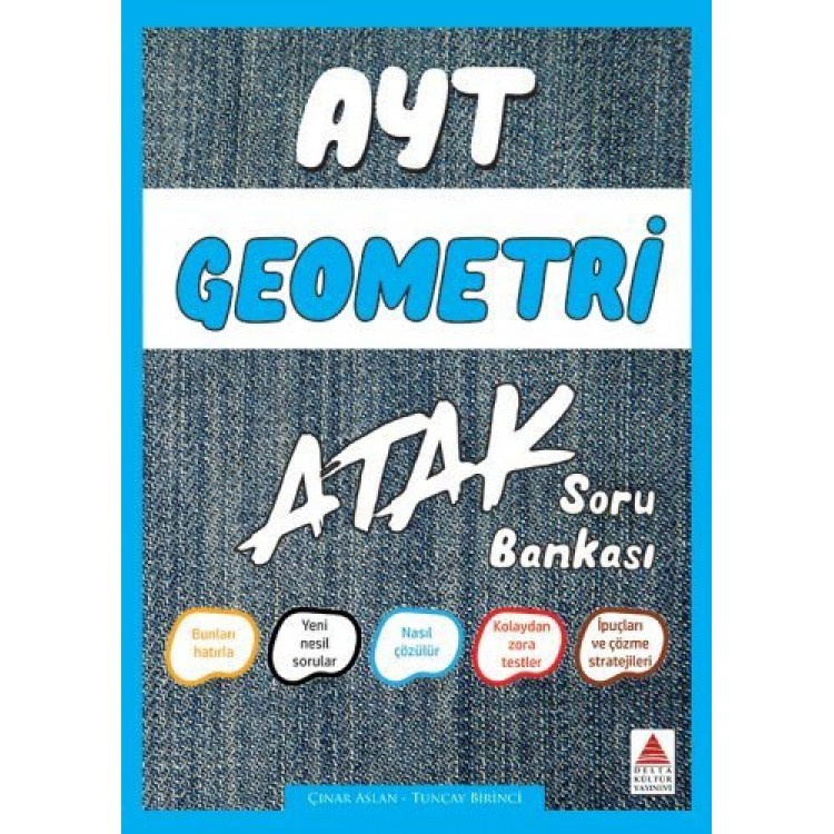 Delta Kültür AYT Geometri Atak Soru Bankası