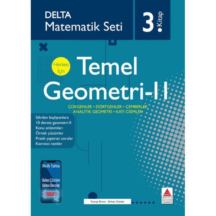 Delta Kültür Matematik Seti 3 - Herkes İçin Temel Geometri 2