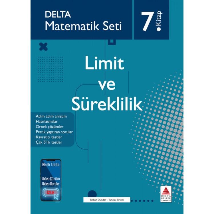 Delta Kültür Matematik Seti 7 - Limit ve Süreklilik