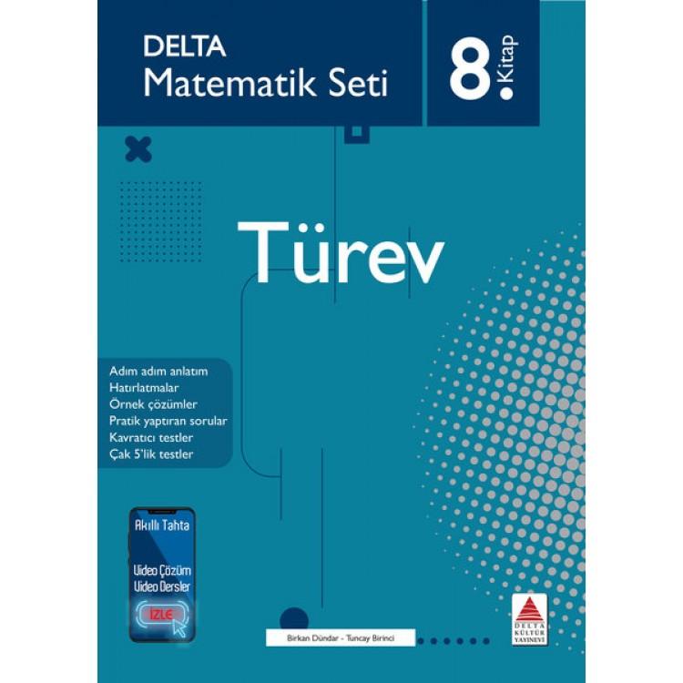 Delta Kültür Matematik Seti 8 - Türev