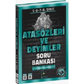 Edebiyat Sokağı Yayınları 5-6-7-8. Sınıf Atasözleri ve Deyimler Soru Bankası