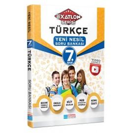 Evrensel İletişim 7. Sınıf EXATLON Türkçe Video Çözümlü Yeni Nesil Soru Bankası