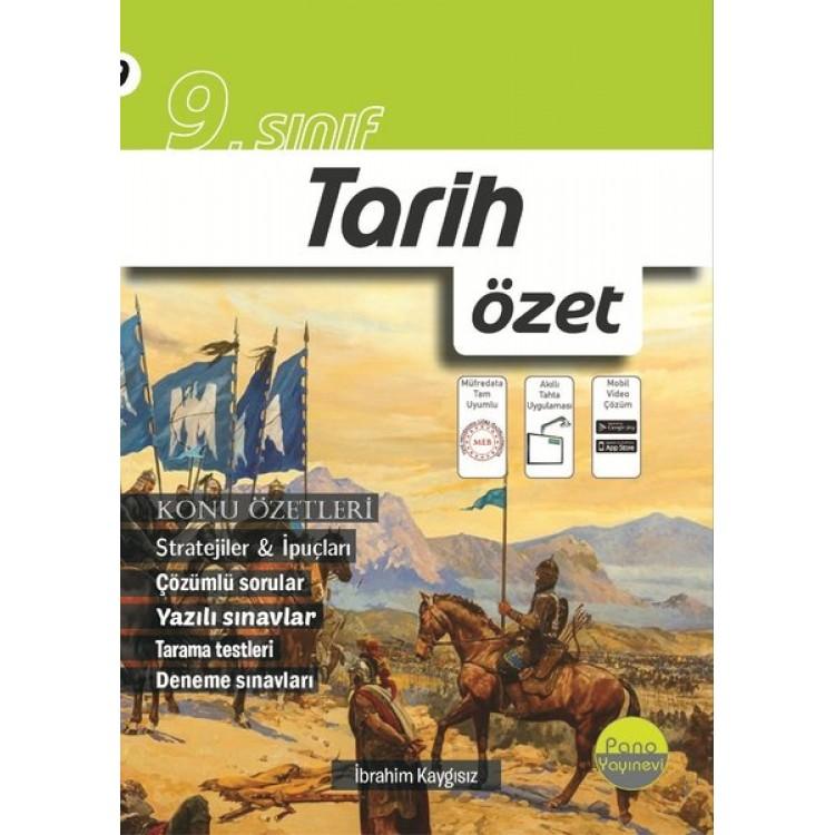 Pano Yayınları 9. Sınıf Tarih Özet