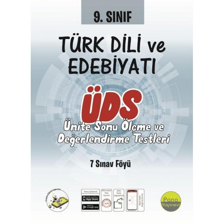 Pano Yayınları 9. Sınıf Türk Dili ve Edebiyatı Ünite Değerlendirme Sınavı (7 Sınav)