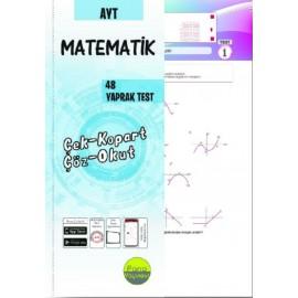 Pano Yayınları AYT Matematik Yaprak Testleri Çek Kopart 48 Adet