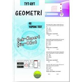 Pano Yayınları TYT AYT Geometri Yaprak Testleri Çek Kopart 48 Adet