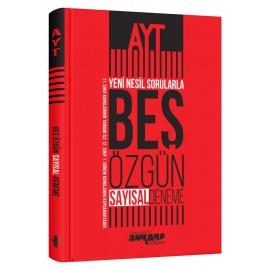 Ankara Yayıncılık AYT Yeni Nesil Sorularla Sayısal 5 Özgün Deneme
