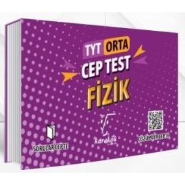 Karekök Yayınları TYT Fizik Cep Test Orta