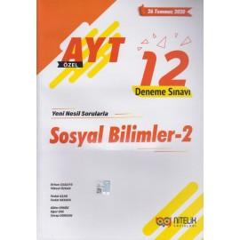 Nitelik Yayınları AYT Sosyal Bilimler - 2  Özel 12 Deneme Sınavı