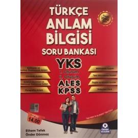 Örnek Akademi YKS ALES KPSS Türkçe Anlam Bilgisi Soru Bankası