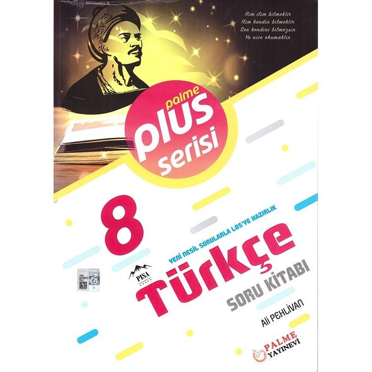 Palme Yayınları 8. Sınıf Plus Serisi Türkçe Soru Kitabı
