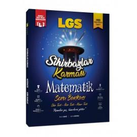 Sihirbazlar Karması 8. Sınıf LGS Matematik Soru Bankası (Sihirli Özet Hediyeli)