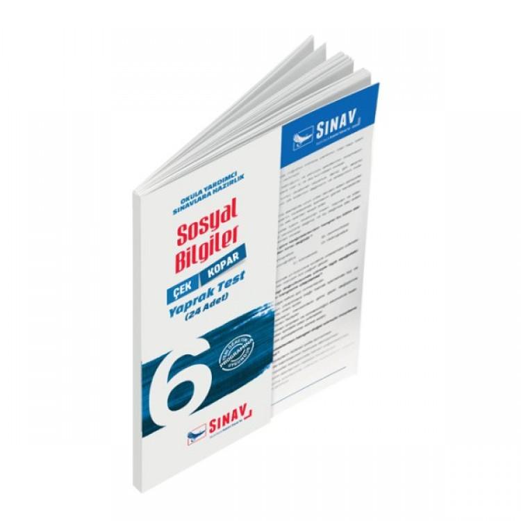 Sınav Yayınları 6. Sınıf Sosyal Bilgiler Yaprak Test