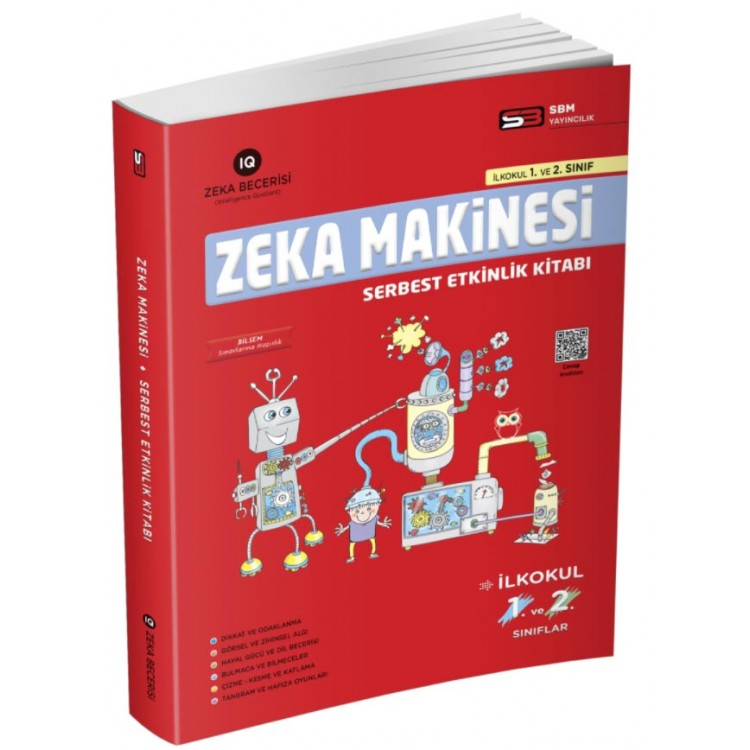 Soru Bankası Merkezi 1. Sınıf ve 2. Sınıf Zeka Makinesi Serbest Etkinlik Kitabı
